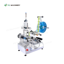 Semi Automatic Labeler for Square Round Flat Irregular Bottle Labeling Machine